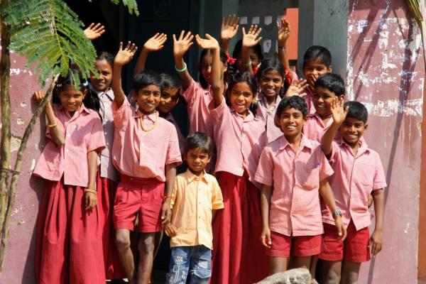 Школьная форма Индии
