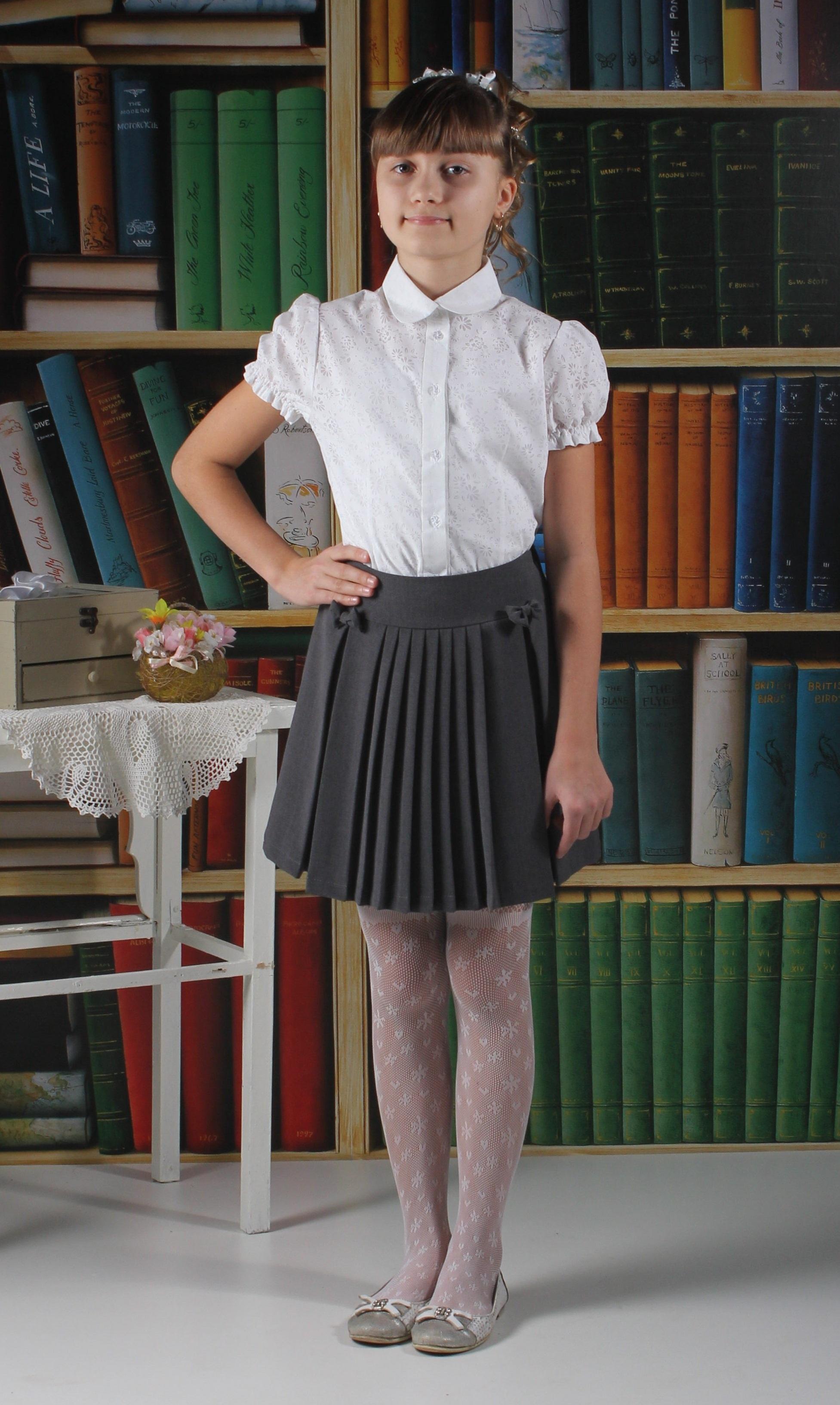 Блузка с коротким рукавом