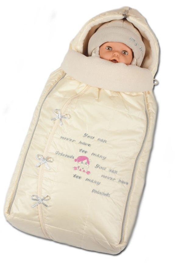 Сшить зимний конверт для новорожденного своими 140