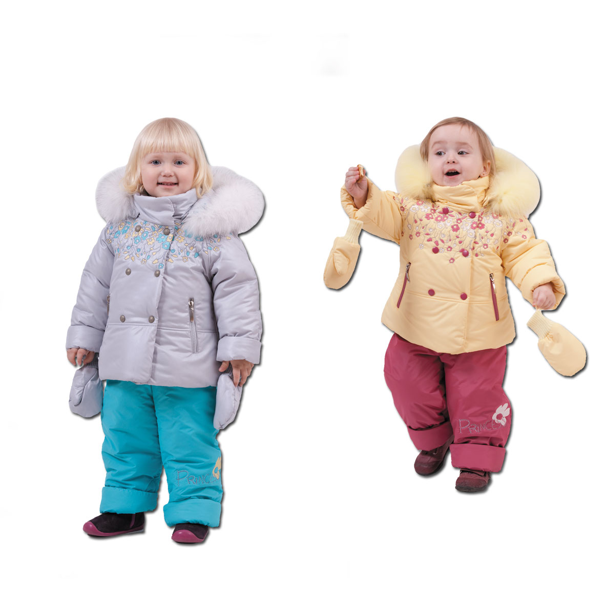 детский зимний комбинезон для девочки купить москва