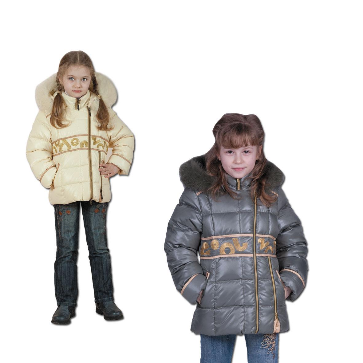 Детская зимняя куртка парка для