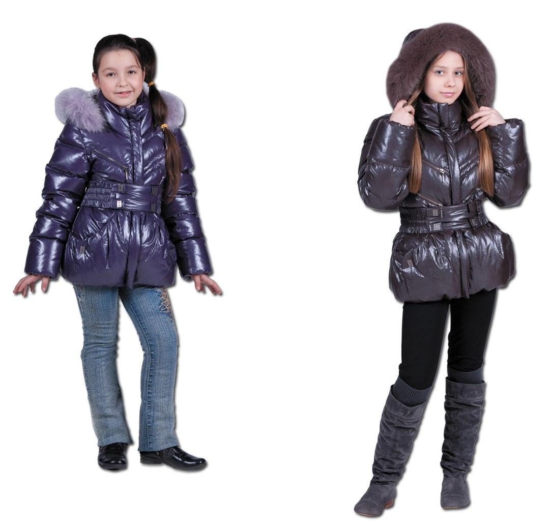 Детские зимние куртки для девочек З-264