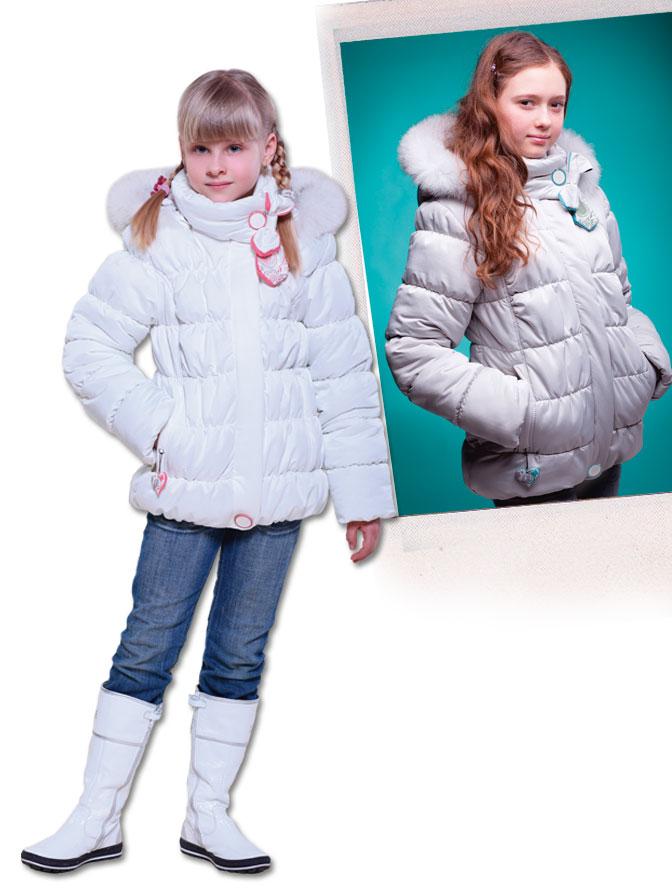 Детские зимние куртки для девочек (з-082