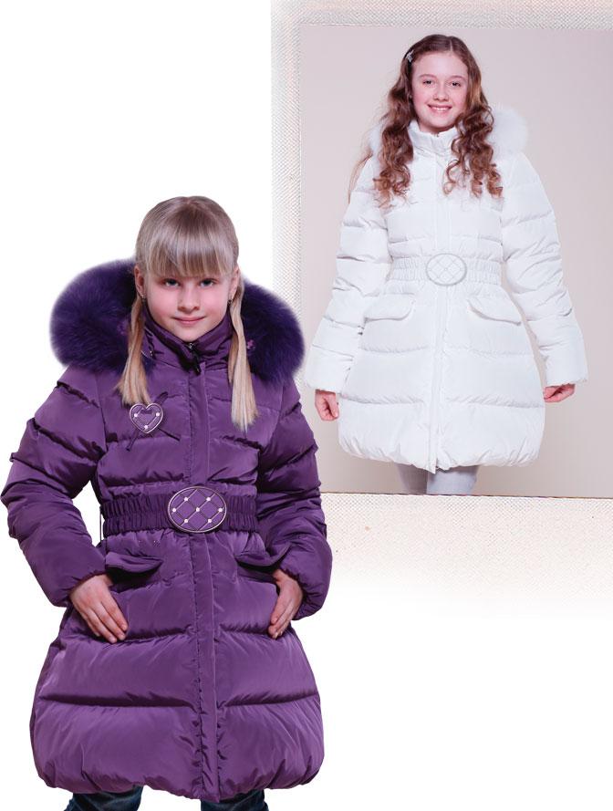 Пальто на девочку (26 изображения ) -