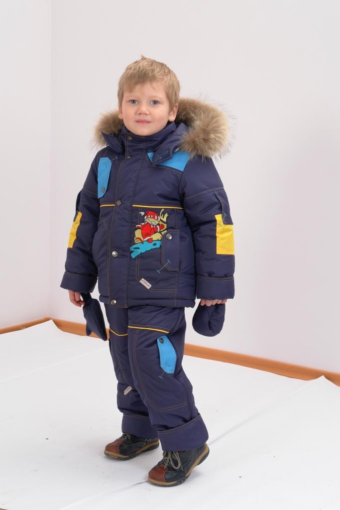 Детские зимние костюмы для мальчиков | Детские