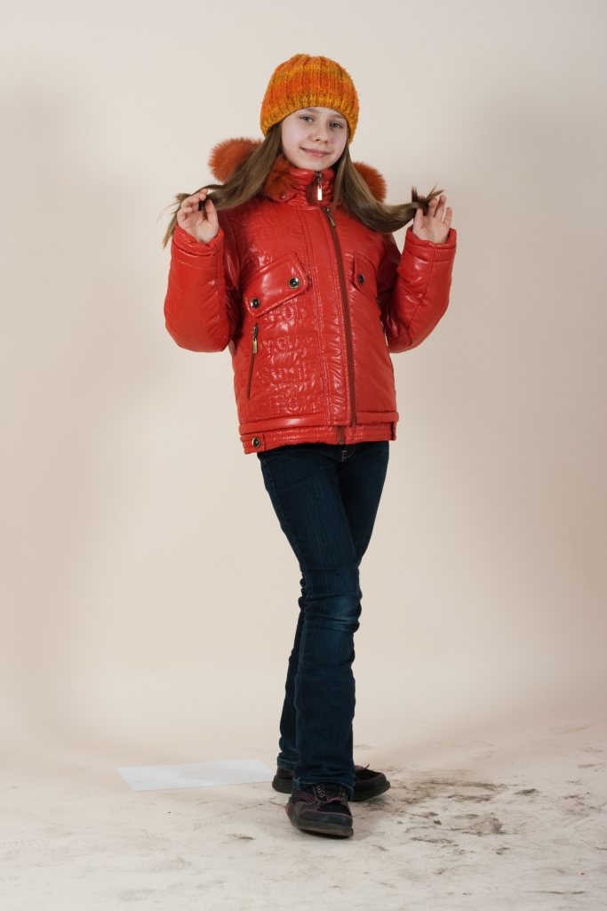 зимние куртки для девочек. Модная